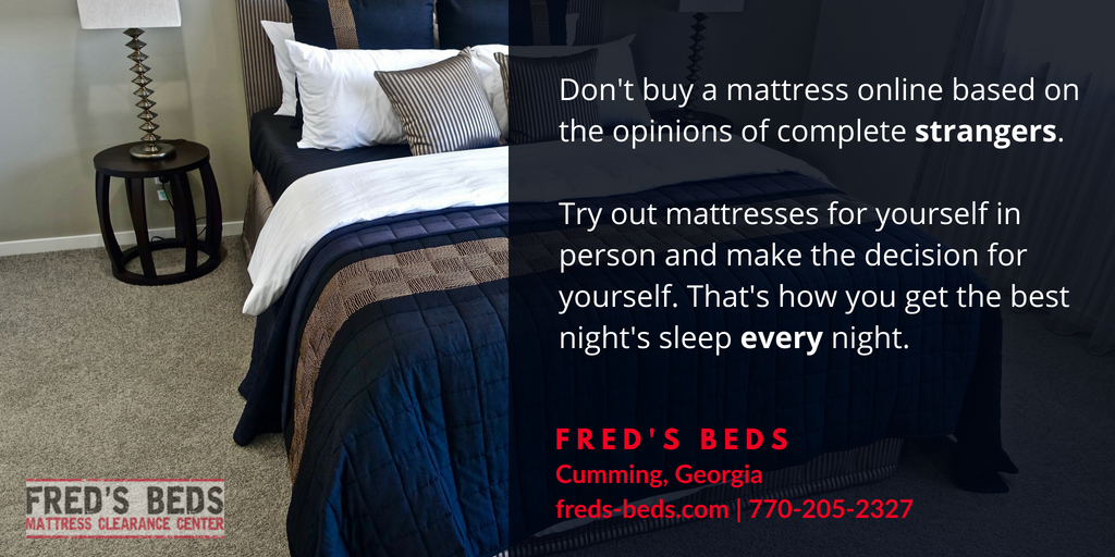 Mattress Store in Suwanee - Test Mattress
